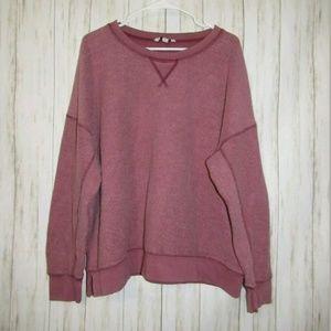 XXL American Eagle Pink Fuzzy Sweatshirt